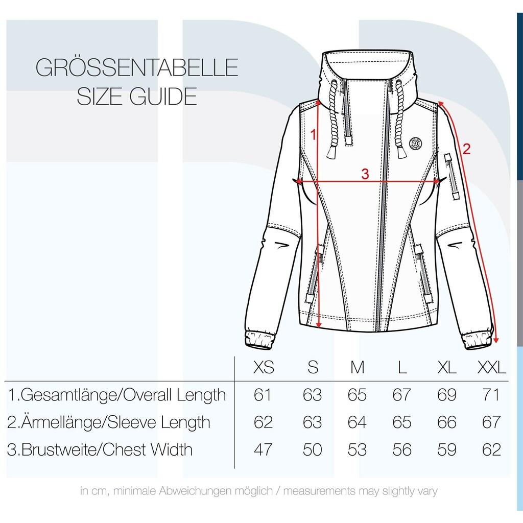 DESIRES Kurzjacke »Belle«, Übergangsjacke mit schrägem Reißverschluss