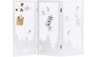 Dekoobjekt »Weihnachts - Silhoutte Winderwunderland« kaufen