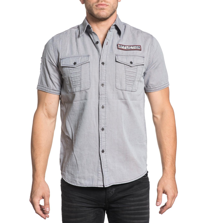 AFFLICTION Freizeit-Hemd mit Logostickerei | Bekleidung > Hemden > Freizeithemden | Affliction