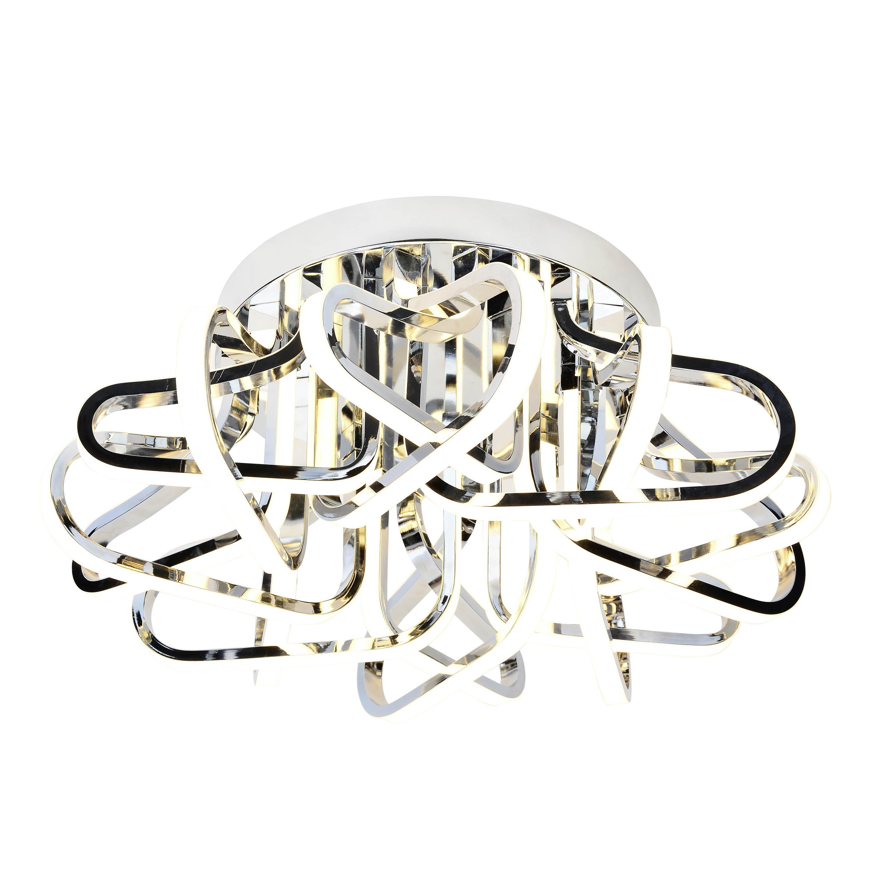 AEG Kevina LED Deckenleuchte 60cm chrom