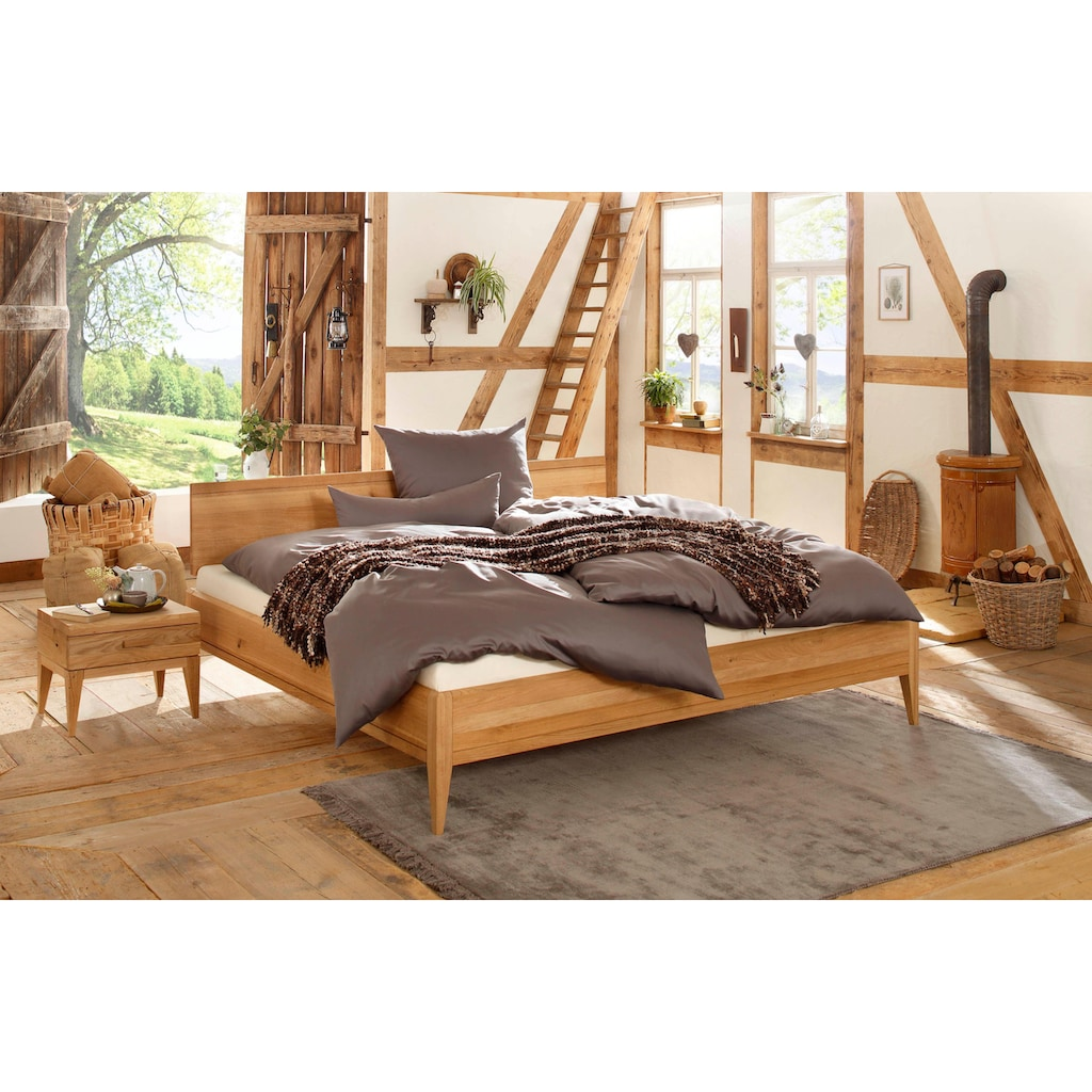Premium collection by Home affaire Massivholzbett »MINIMUS«, aus Zirbe, 100% vegan
