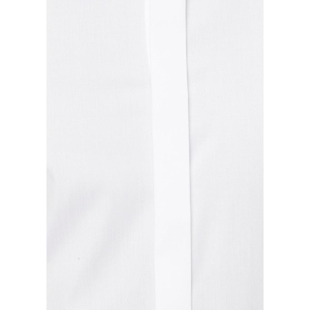 OLYMP Smokinghemd »Level Five body fit«, Umschlagmanschetten,verdeckte Knopfleiste