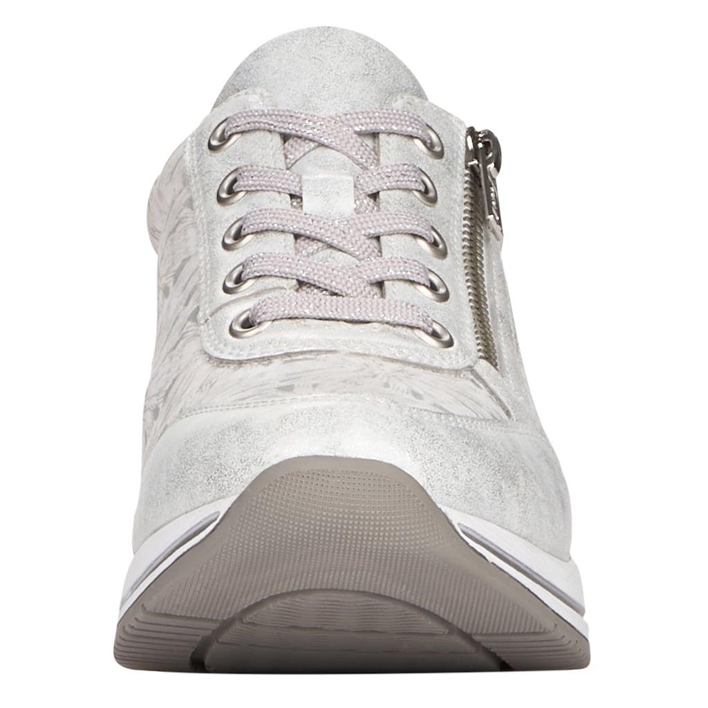 Remonte Wedgesneaker, mit seitlichem Reißverschluss