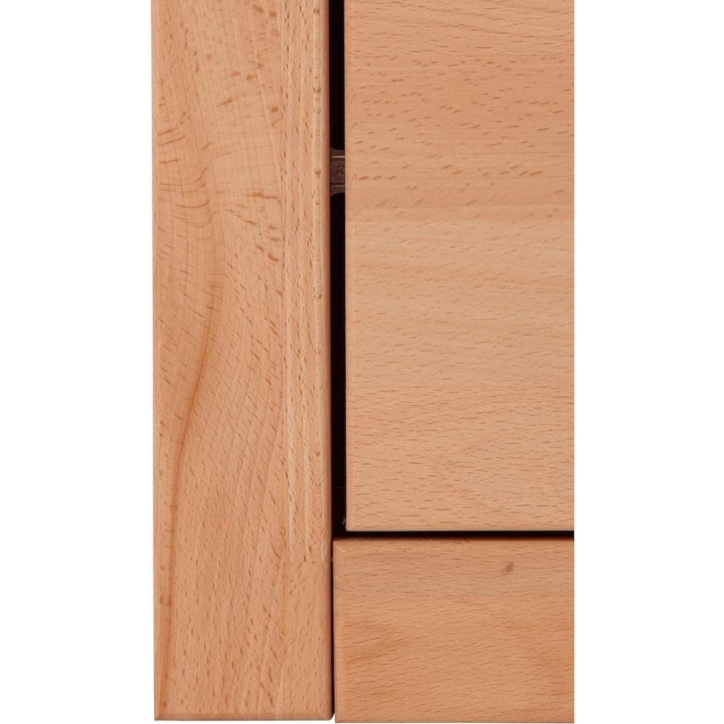 Woltra Wohnwand »Ribe«, (Set, 5 St.), teilmassives Holz