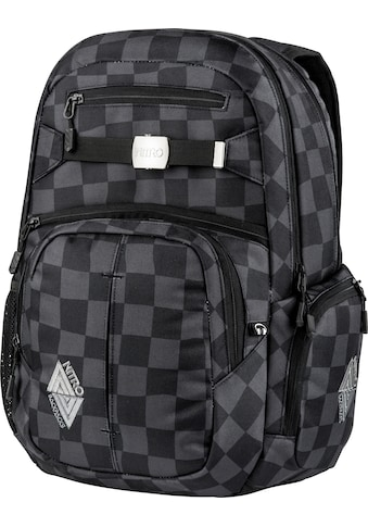 NITRO Schulrucksack »Hero, Black Checker« kaufen