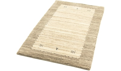 morgenland Wollteppich »Gabbeh Teppich handgewebt natur«, rechteckig, 15 mm Höhe kaufen