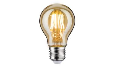 Paulmann »AGL 7,5 Watt E27 Gold 230 V Warmweiß« LED - Leuchtmittel kaufen