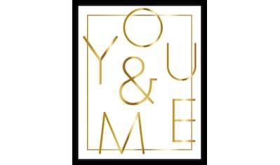 G&C Bild »YOU & ME WHITE« kaufen