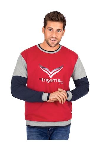 Trigema Sweatshirt, mit TRIGEMA-Logo kaufen