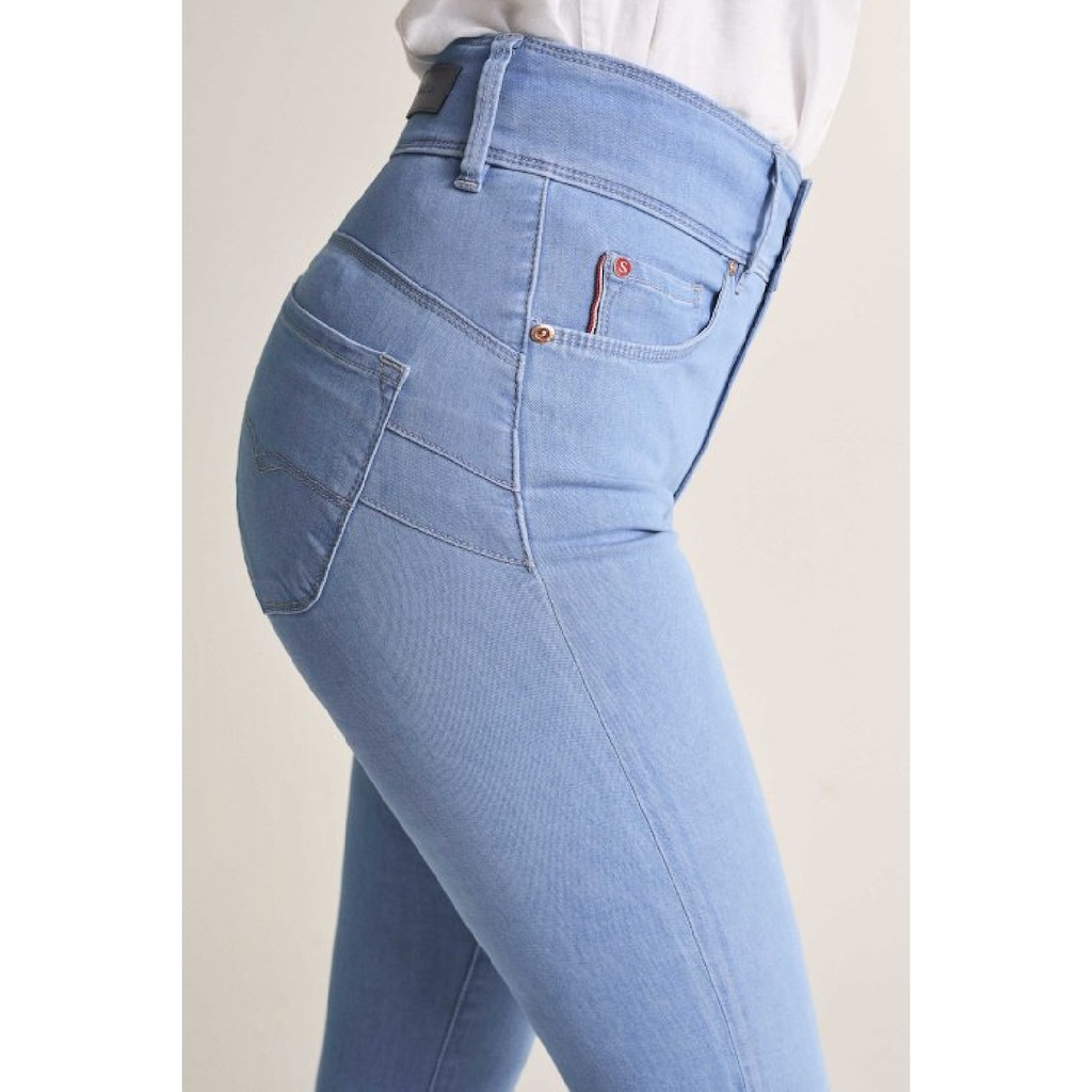 Salsa Skinny-fit-Jeans »High waist«