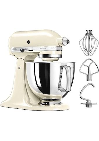 KitchenAid Küchenmaschine »Artisan 5KSM125EAC«, 300 W, 4,8 l Schüssel, creme kaufen