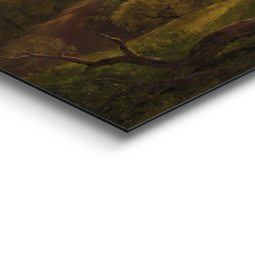 Reinders! Wandbild »Wandbild Italienische Landschaft Alte Meister - Hendrik Voogd - Villa Borghese - Rome«, Italien, (1 St.)