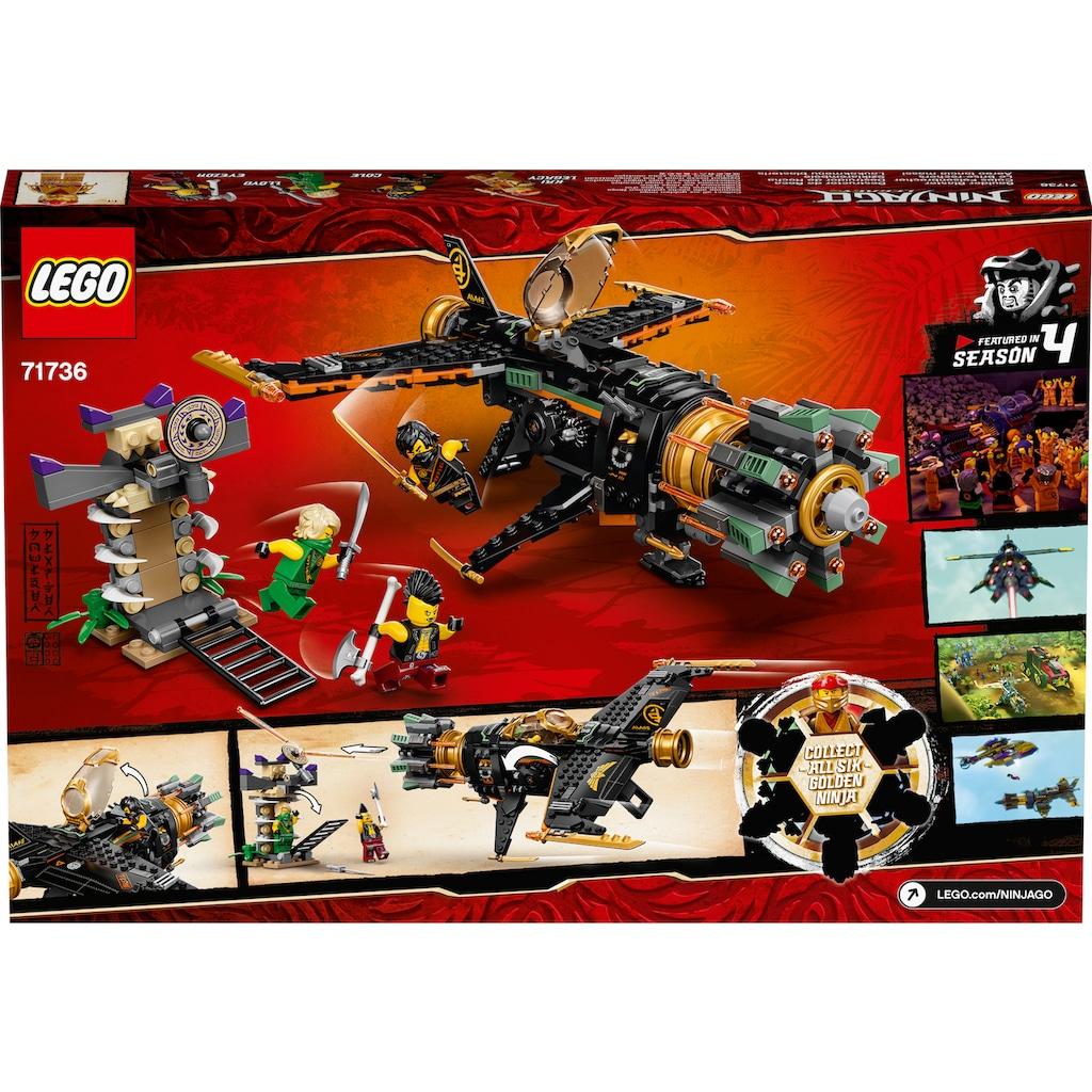 LEGO® Konstruktionsspielsteine »Coles Felsenbrecher (71736), LEGO® NINJAGO®«, (449 St.), Made in Europe