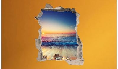 Conni Oberkircher´s Wandsticker »Sunset Waves«, selbstklebend kaufen