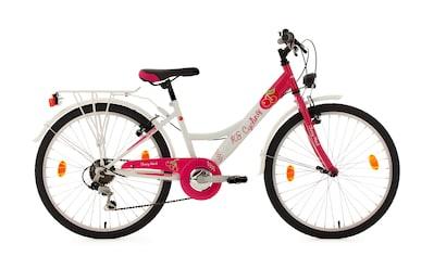 KS Cycling Jugendfahrrad »Cherry Heart«, 6 Gang, Shimano, Tourney Schaltwerk,... kaufen