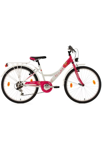KS Cycling Jugendfahrrad »Cherry Heart«, 6 Gang, Shimano, Tourney Schaltwerk, Kettenschaltung kaufen