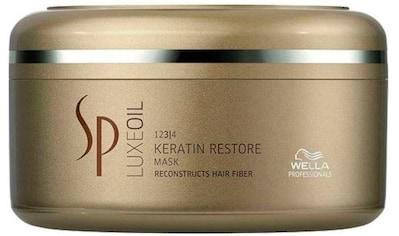 Wella Professionals Haarmaske »SP Luxe Oil Keratin Restore«, aufbauende Pflege kaufen