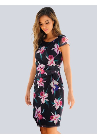 Alba Moda Strandkleid, aus bedruckter Meshware kaufen