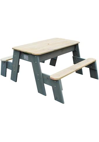 EXIT Kindersitzgruppe »Spieltisch Aksent Picknick«, BxL: 94x121 cm, 2 Bänke kaufen