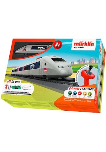 """Märklin Spielzeugeisenbahn - Set """"Märklin my world  -  TGV  -  29306"""", Spur H0 kaufen"""