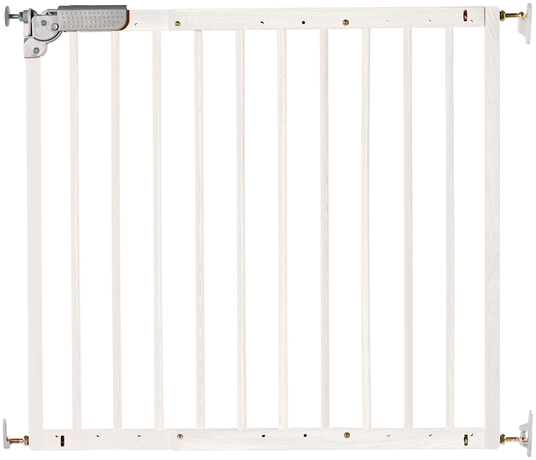 Dolle Treppenschutzgitter Pia, für Kinder, B: 75,6 bis 110,4 cm weiß Baby Türschutzgitter Babygitter Babymöbel