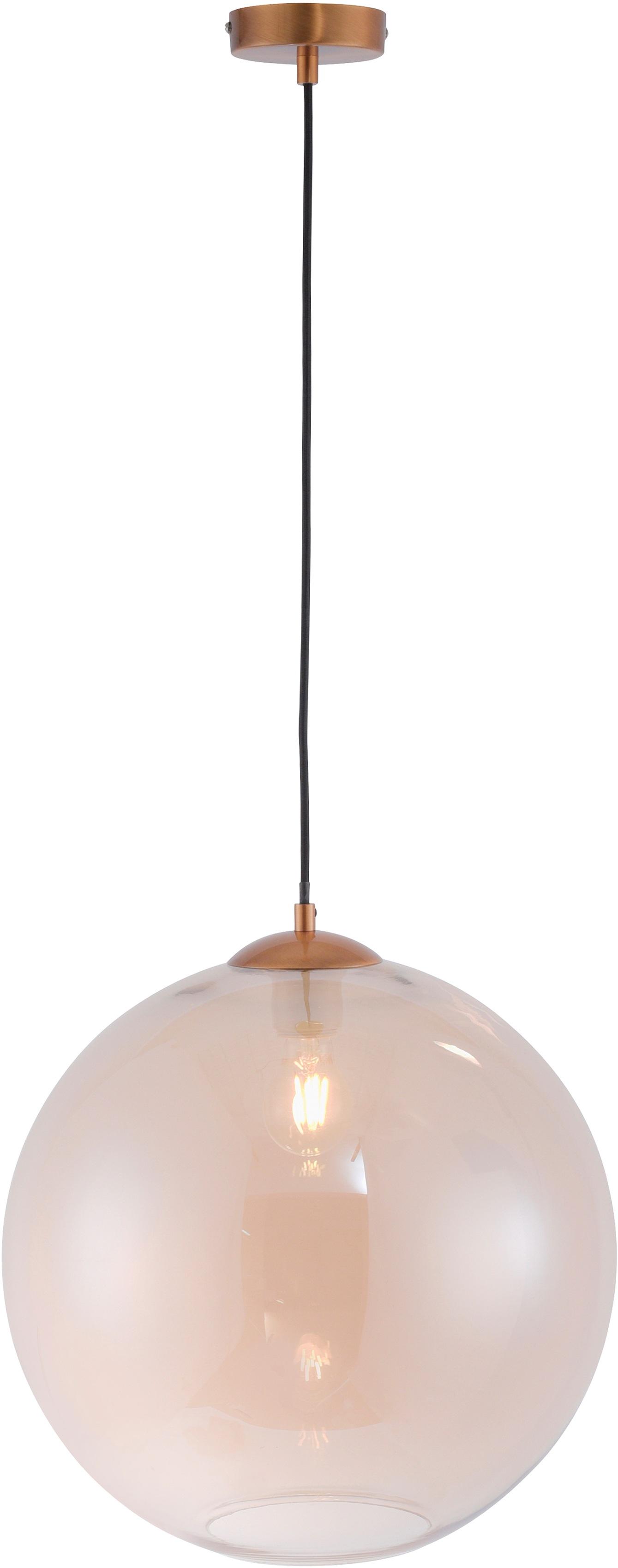 Leuchten Direkt Pendelleuchte TABEA, E27, 1 St., Hängeleuchte, Hängelampe