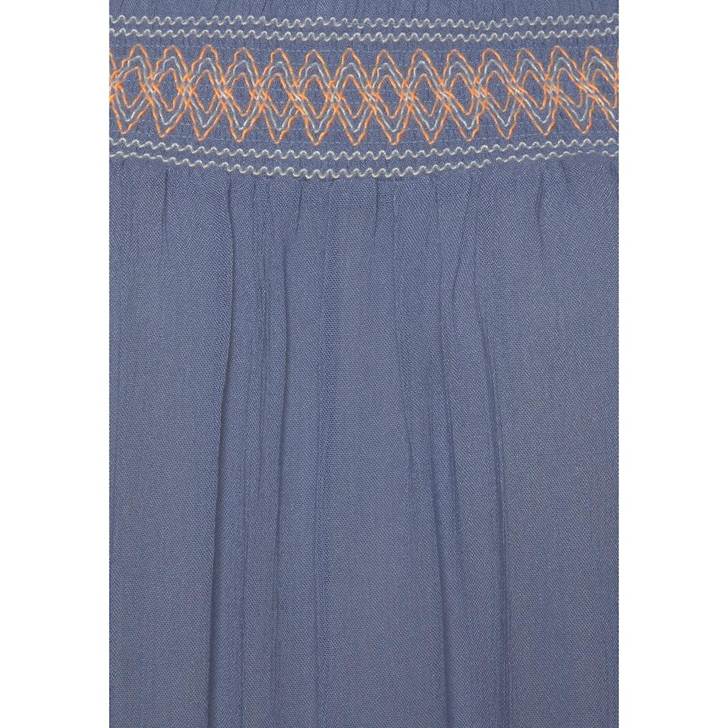 s.Oliver Strandkleid, aus gewebter Viskose