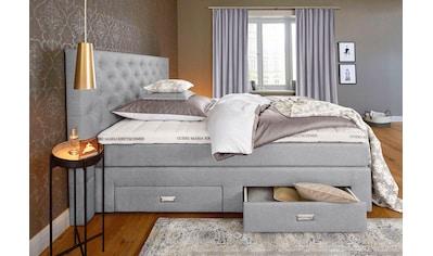 Guido Maria Kretschmer Home&Living Boxspringbett »Aivi«, mit Schubkästen kaufen