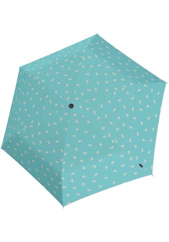 Knirps® Taschenregenschirm »U.200 Ultra Light Duomatic, umbrella aqua« kaufen