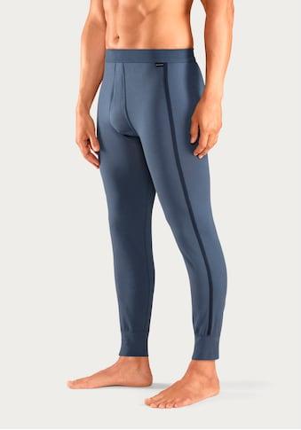 Schiesser Lange Unterhose, mit Pipings und Eingriff kaufen