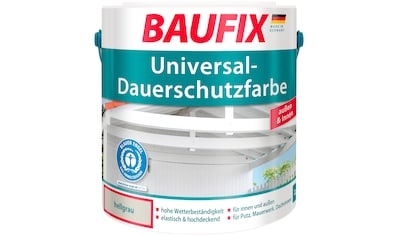 BAUFIX Acryl Buntlack »Universal - Dauerschutzfarbe«, hellgrau, 2,5 L kaufen