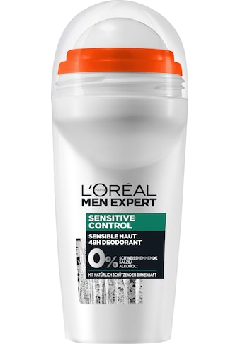 "L'ORÉAL PARIS MEN EXPERT Deo - Roller ""Sensitive Control Birkensaft"" kaufen"
