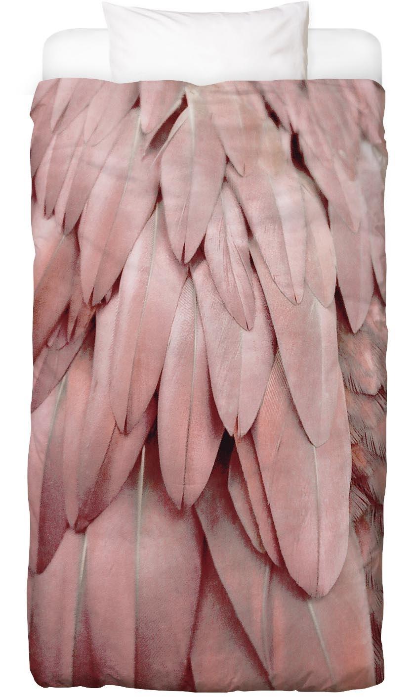 Bettwäsche Pastel Feathers Juniqe