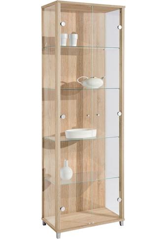Vitrine, 2-türig, 4 Glasböden kaufen