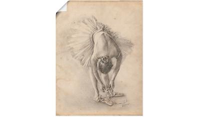 Artland Wandbild »Antike Ballerina Übung I« kaufen