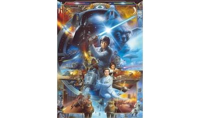 KOMAR Set: Fototapete »Star Wars Luke Skywalker Collage«, Ausgezeichnet lichtbeständig kaufen