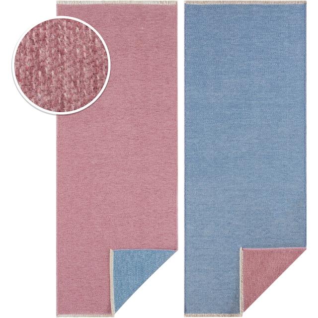 Läufer, »Duo«, HANSE Home, rechteckig, Höhe 7 mm, maschinell gewebt