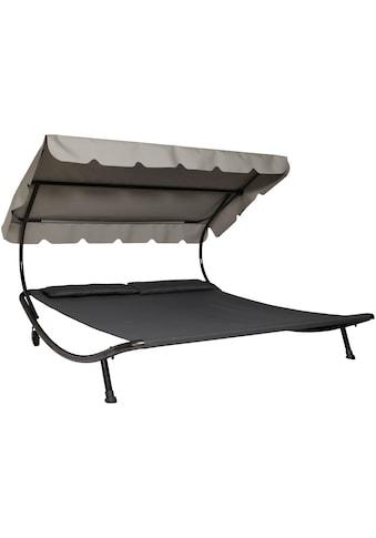 Leco Doppelliege, Stahl/Textil, 200x200 cm kaufen