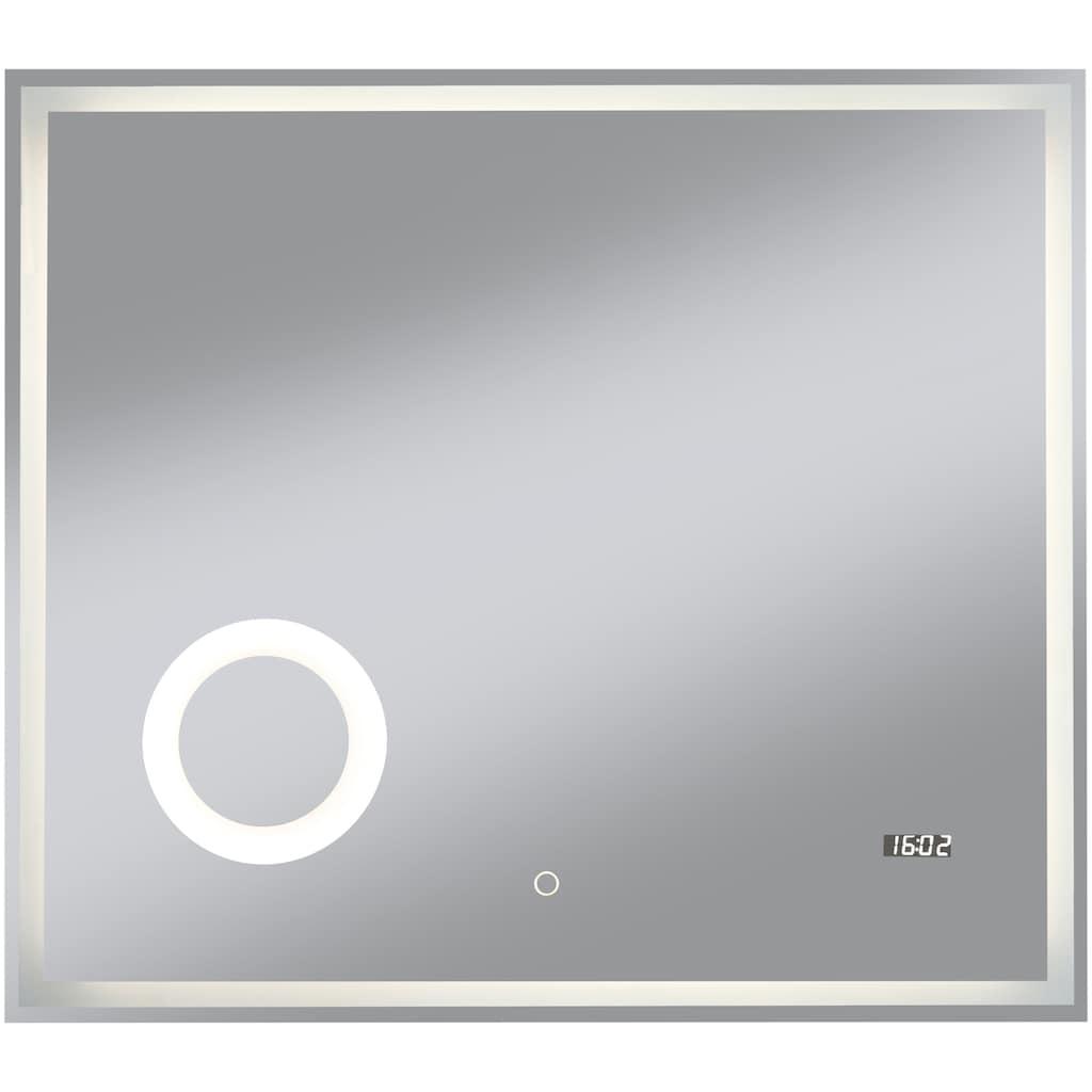 welltime Badspiegel »Flex«, BxH: 80 x 70 cm