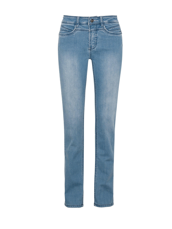 MILLION-X Gerade Jeans Rita Super-Power- Demin-Strech | Bekleidung > Jeans > Gerade Jeans | Blau | Million-X