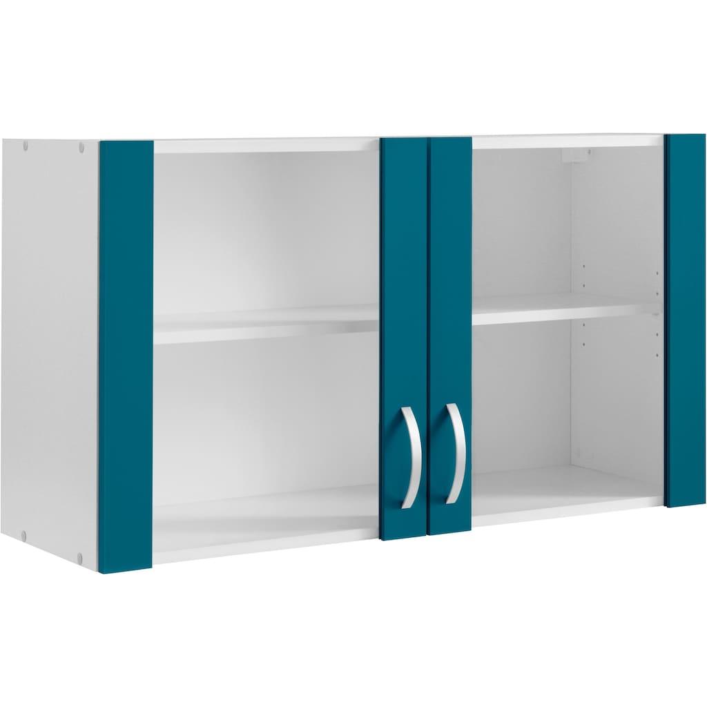 wiho Küchen Glashängeschrank »Amrum«, Front mit Glaseinsatz