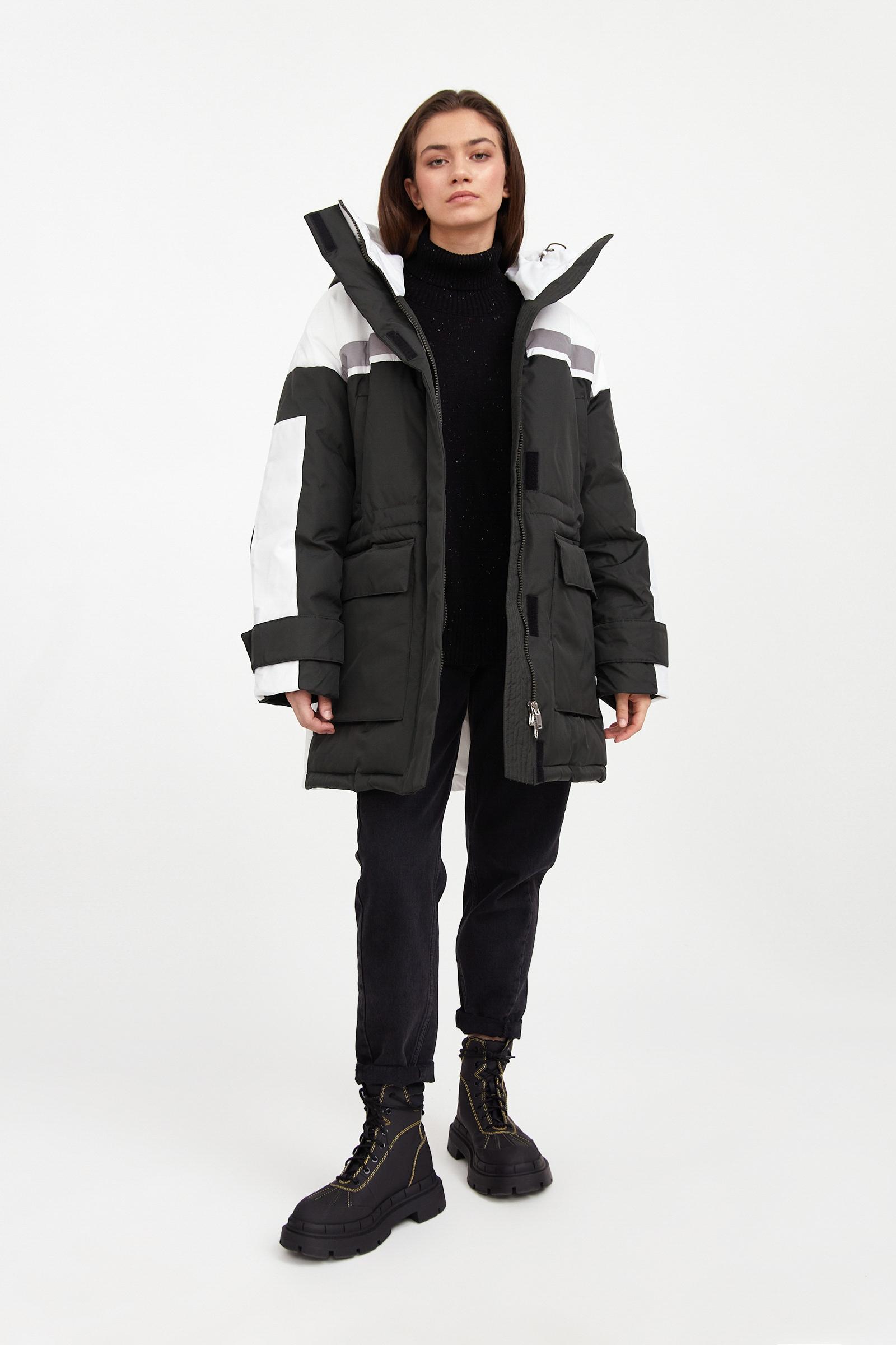 finn flare -  Kurzmantel, mit aufgesetzten Taschen