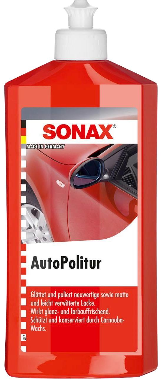 Sonax Autopolitur, 500 ml rot Autopflege Autozubehör Reifen Autopolitur