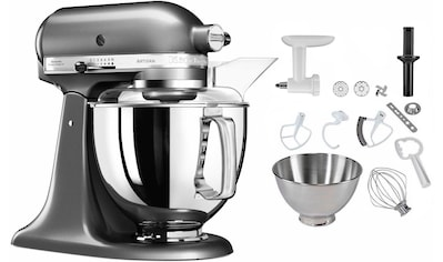 KitchenAid Küchenmaschine »5KSM175PSEMS Artisan«, 300 W, 4,8 l Schüssel, inkl.... kaufen