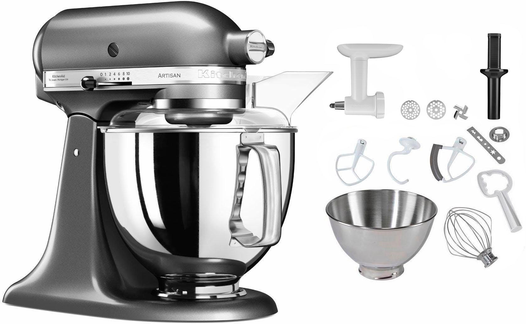 Kitchenaid 5Ksm150Psemc Artisan Küchenmaschine Grau 300 Watt 2021