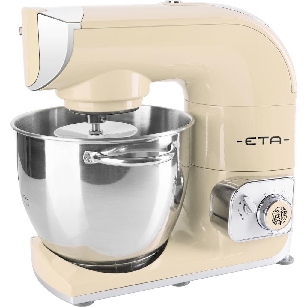 eta Küchenmaschine »Gratus Storio beige ETA002890062«, 1200 W, 5,5 L Edelstahlschüssel, PULSE – Funktion