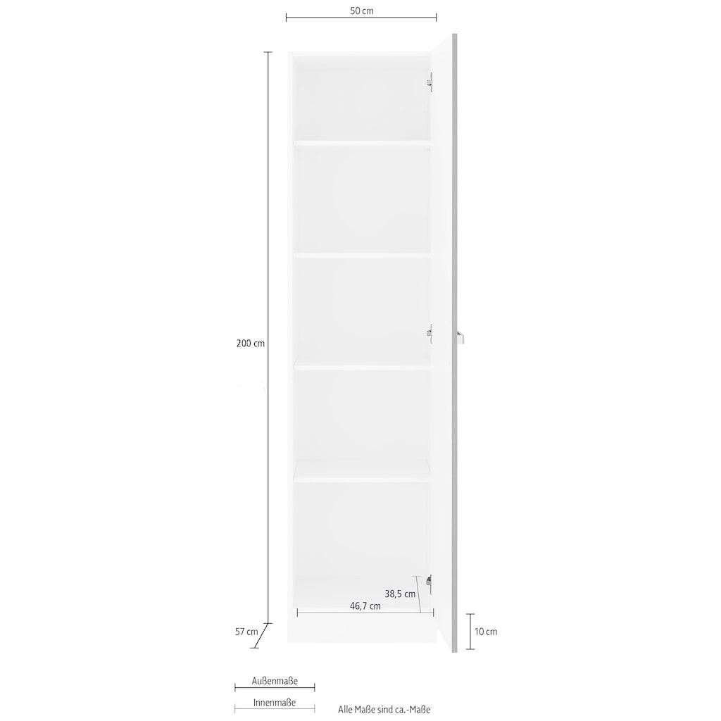 wiho Küchen Seitenschrank »Husum«, 50 cm breit