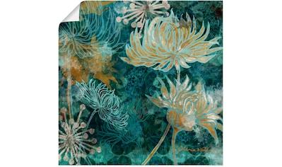 Artland Wandbild »Blaue Chrysanthemen I« kaufen