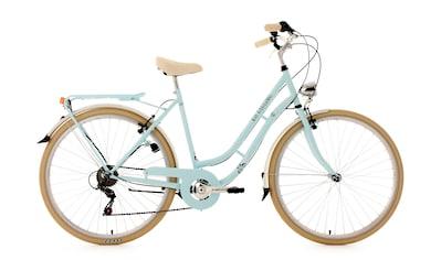 KS Cycling Cityrad »Casino«, 6 Gang Shimano Tourney Schaltwerk, Kettenschaltung kaufen
