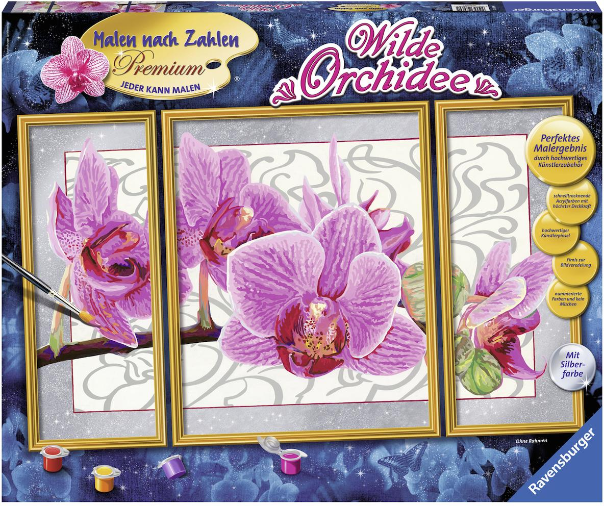 Ravensburger Malen nach Zahlen, »Wilde Orchidee«